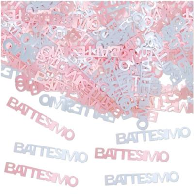 Confetti BATTESIMO ROSA